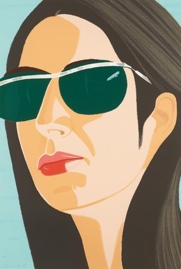 Alex Katz-Ada With Sunglasses, From Alex And Ada, The 1960's To The 1980's-1990