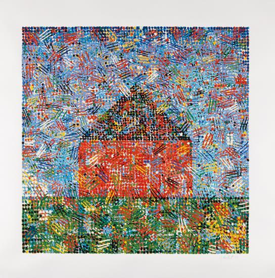 Jennifer Bartlett-House: Dots, Hatches-1999