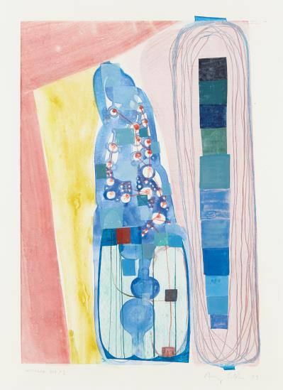 Amy Sillman-Untitled Big #1-1999