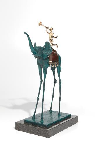 Salvador Dali-Elephant De Triomphe-1984