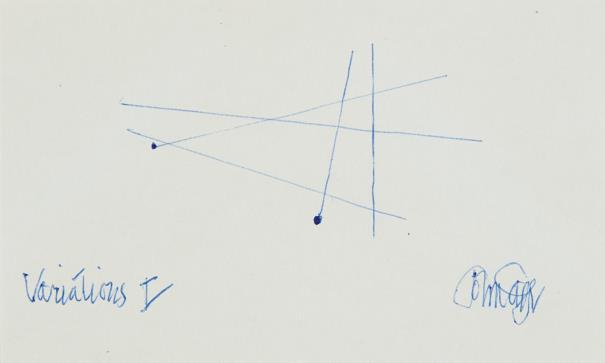 John Cage-Variations I-1958