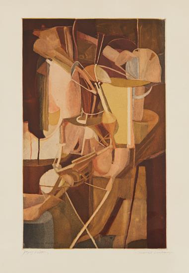 Marcel Duchamp-Jacques Villon-Mariee (Bride)-1934
