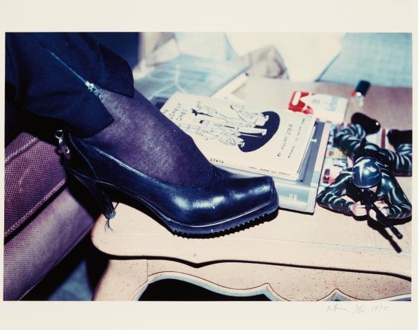 Richard Prince-Shaun Calley's Shoe, Chateau Marmont, Los Angeles, Calif., Winter-1990