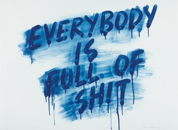Mel Bochner-Everybody Is Full Of Shit-2012