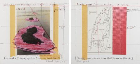 Christo and Jeanne-Claude-Surrounded Islands, Project For Biscayne Bay, Greater Miami, Florida-1987
