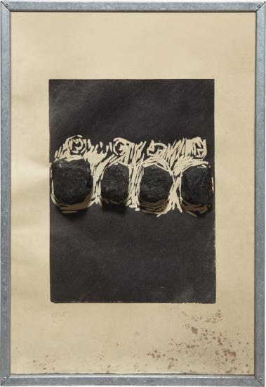 Jannis Kounellis-Untitled (Coal)-1989