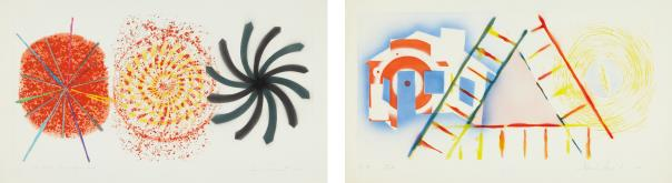 James Rosenquist-One Million Tons Per Square Inch; And Tide-1979