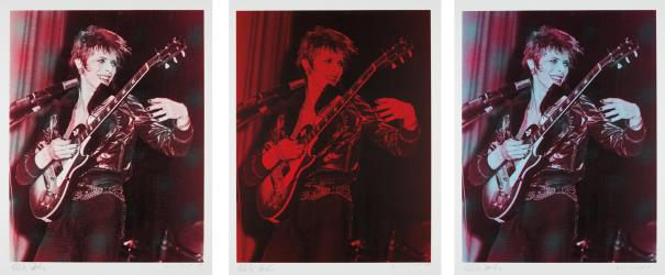 Russell Young-Mick Rock-David Bowie: Three Prints-2008
