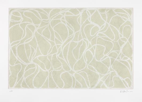 Brice Marden-Celadon Muse-2002