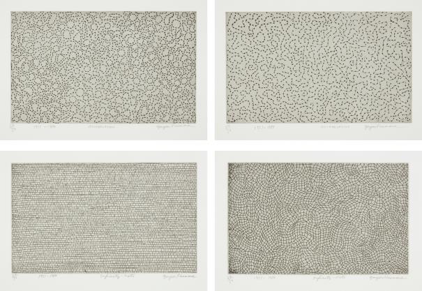 Yayoi Kusama-Infinity Nets; Infinity Nets; Accumulation; And Accumulation-1984