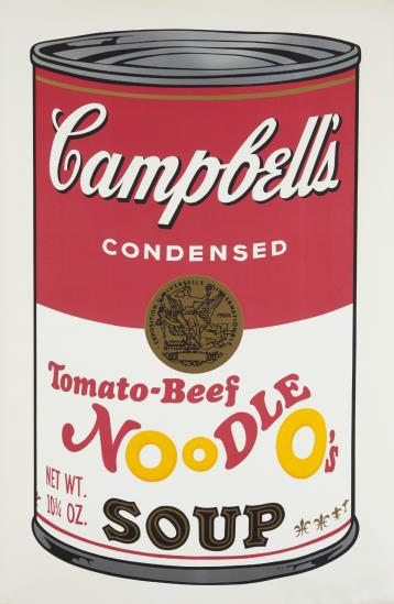 Andy Warhol-Tomato-Beef Noodle O's, From Campbell's Soup Ii-1969