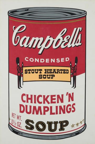 Andy Warhol-Chicken And Dumplings, From Campbell's Soup II-1969