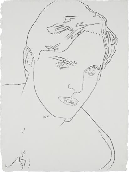 Andy Warhol-Miguel Bose-1983