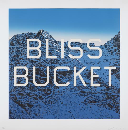Ed Ruscha-Bliss Bucket-2010