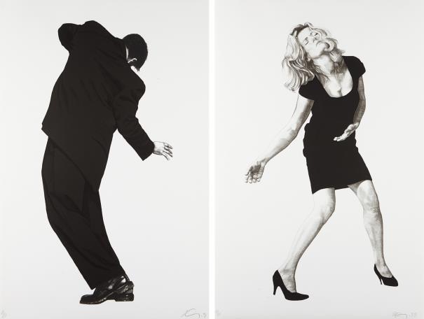 Robert Longo-Raphael; And Barbara, From Men In The Cities-1998
