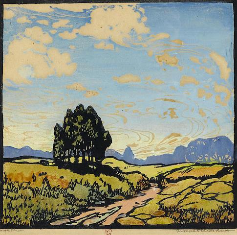 Frances Hammell Gearhart-High Skies-1922