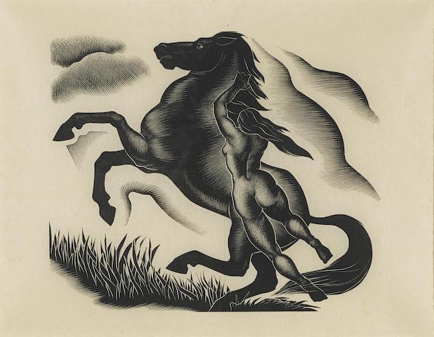 Paul Landacre-Black Stallion-1940