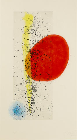 Joan Miro-Soleil et vent-1962