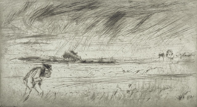 James Abbott McNeill Whistler-The Storm-1861