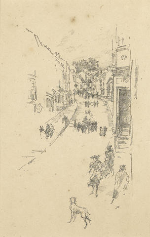 James Abbott McNeill Whistler-Sunday, Lyme Regis-1895
