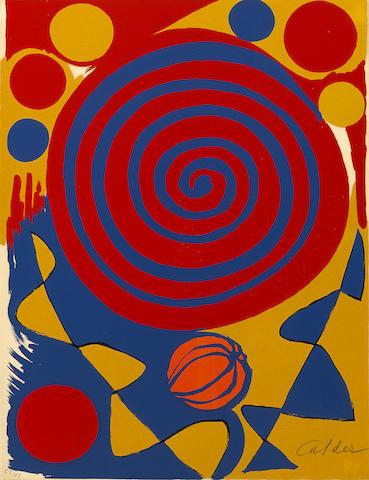 Alexander Calder-Magie Eolienne-1972