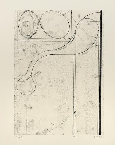 Richard Diebenkorn-#1, from Six Softground Etchings-1978