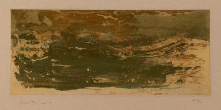 Helen Frankenthaler-Earth Slice-1978