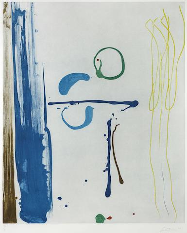 Helen Frankenthaler-Sunshine after Rain-1987