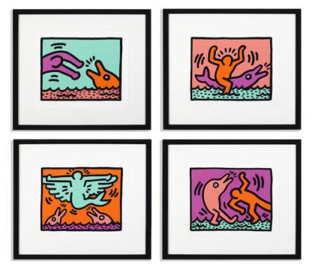 Keith Haring-Pop Shop V-1989