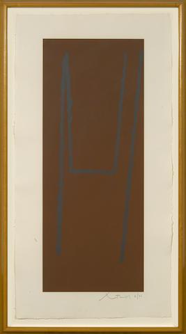 Robert Motherwell-Atascadero I-III 3-1988