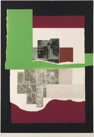 Louise Nevelson-Celebration #2, from Celebration Portfolio-1979