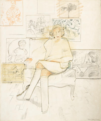 Larry Rivers-Drawn from The Collection-1984