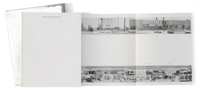 Ed Ruscha-Every Building on the Sunset Strip-1971