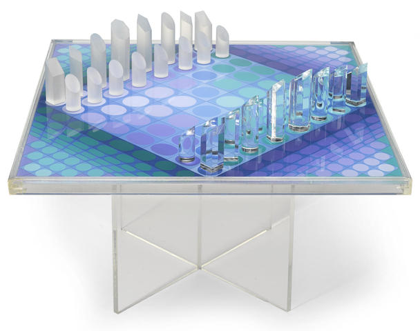 Victor Vasarely-Vasarely Chess Set-1982