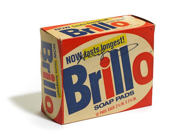Andy Warhol-Brillo Box-1978