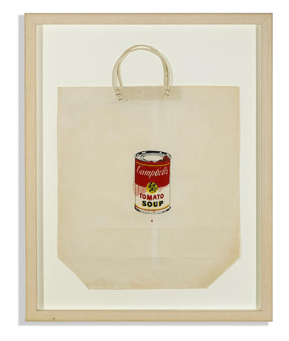 Andy Warhol-Campbell's Soup Can (Tomato)-1964