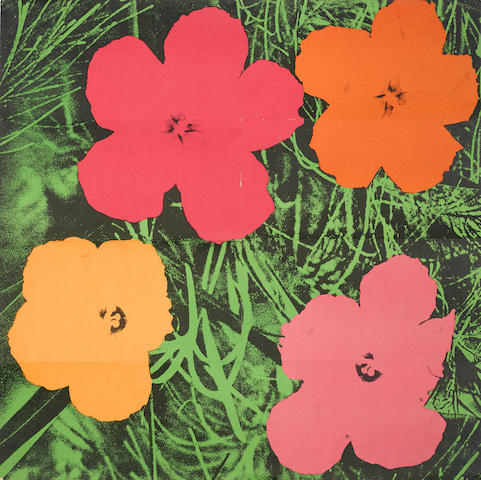 Andy Warhol-Flowers (Mailer)-1964