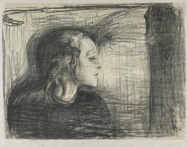 Edvard Munch-The Sick Child I-1896