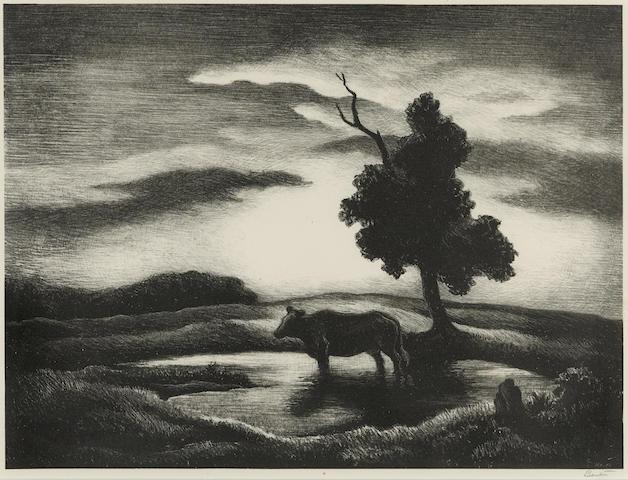 Thomas Hart Benton-Sunset-1941