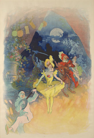 Jules Cheret-Musee Grevin, Theatre les Fantoches-1900