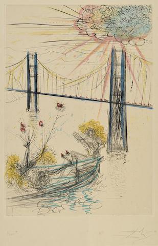 Salvador Dali-San Francisco-1970