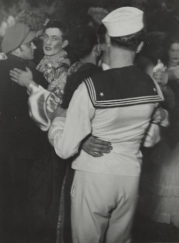 Brassai-Untitled (Man in Costume Dancing)-1931