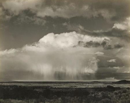 Edward Weston-Rain over Modoc Lava Beds, California-1937
