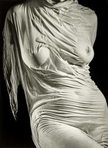 Ruth Bernhard-Wet Silk-1938