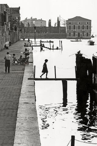 Willy Ronis-Fondamenta Nuove, Venice-1959