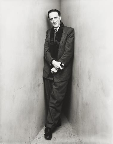 Irving Penn-Marcel Duchamp, New York-1948