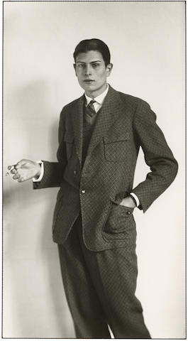 August Sander-The High School Graduate, Koln-1926