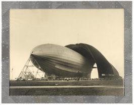 Margaret Bourke-White-United States Airship Akron-1931