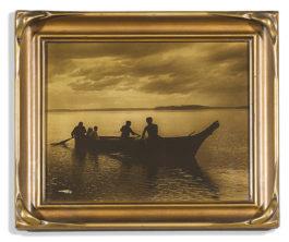 Edward S. Curtis-Homeward Bound-1913