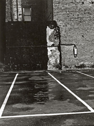 Minor White-Parking Lot, San Francisco, from Sequence 9-1952